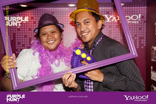 YAHOO PURPLE HUNT MANILA!