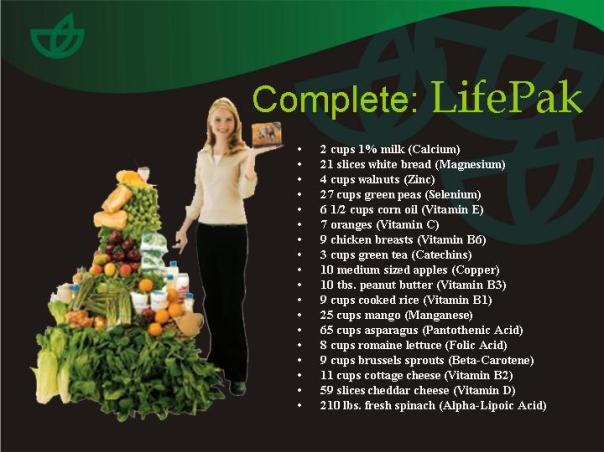 LIFE PAK BENEFITS
