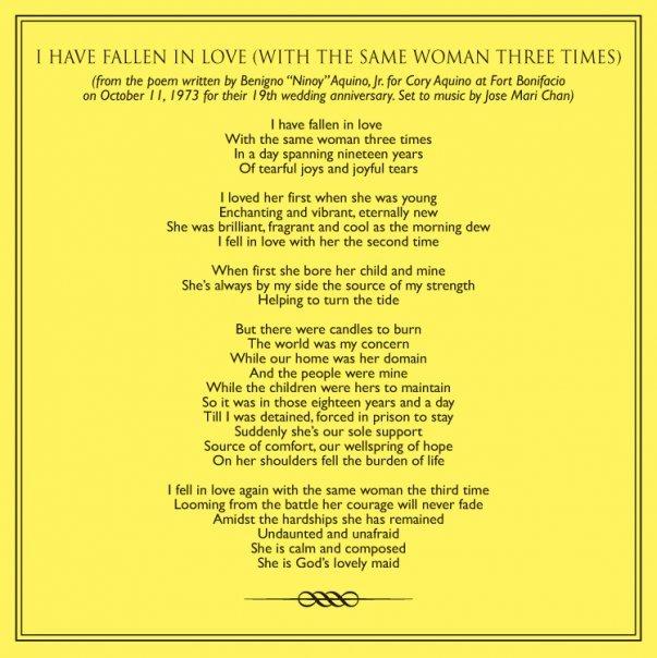 ninoy poem